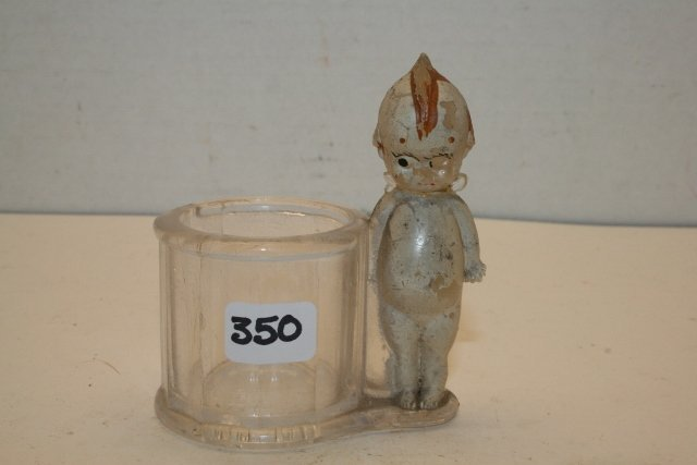 Kewpie by drum Candy Container