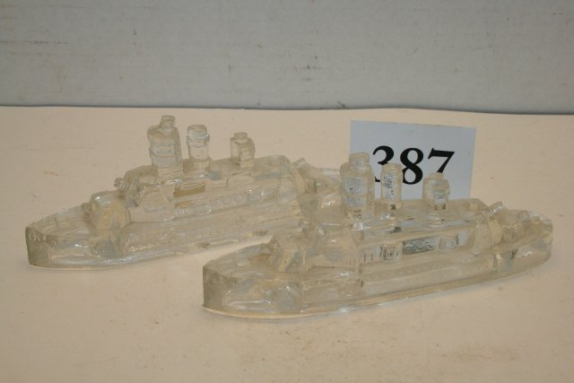 2 Battleship Candy Containers