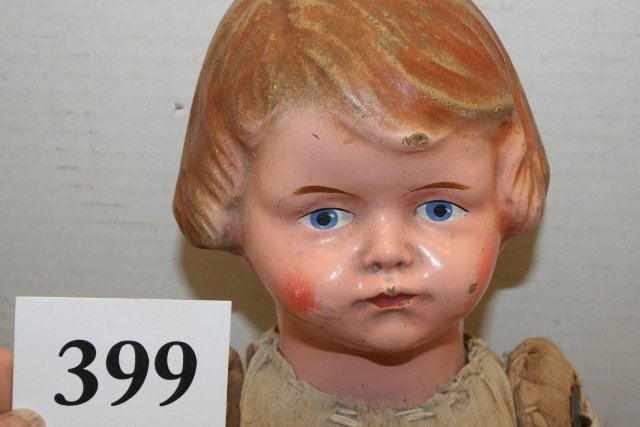 Doll with composition head - 2
