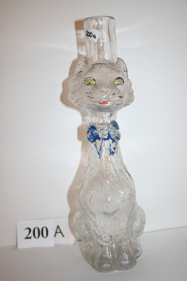 Cat Bottle Candy Container