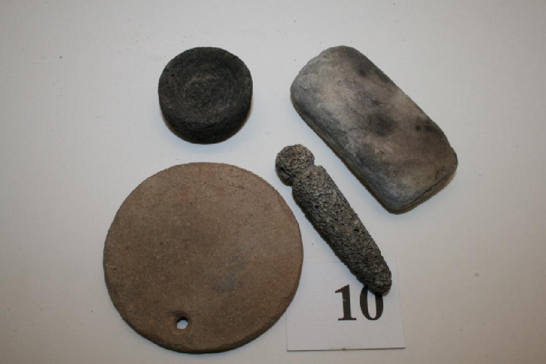 Circular Hohokam Pendant