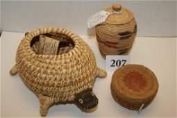 Papago Turtle Basket
