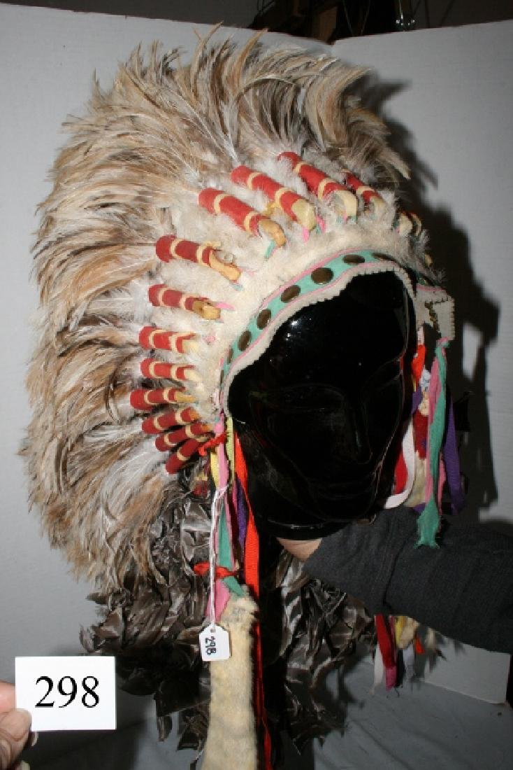 Rooster Hackle Feather Headdress