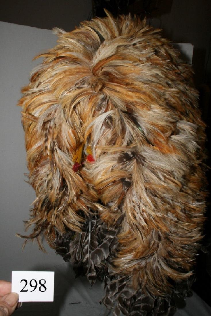 Rooster Hackle Feather Headdress - 3