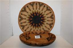 Polychrome Basket Tray