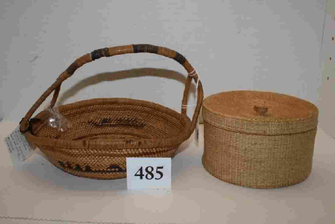 2 Makah Baskets