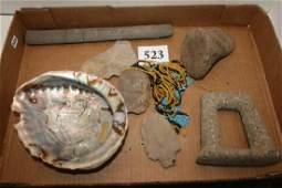 Basket Tray Polychrome Sea Shell