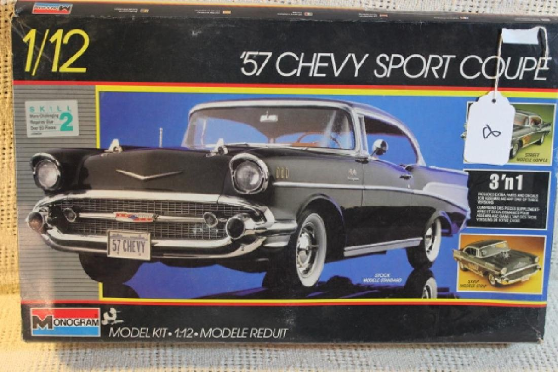 1957 1/12 scale Chevy sport coupe