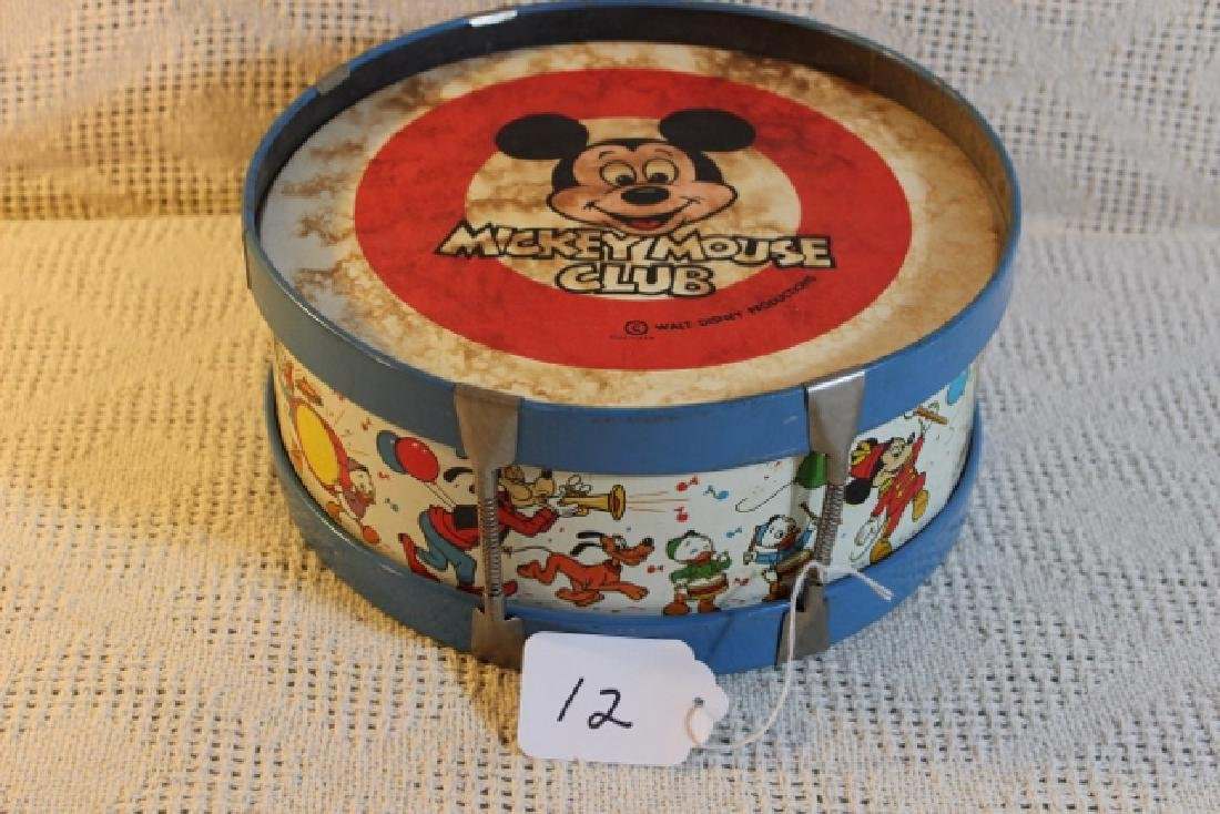 Mickey Mouse club drum