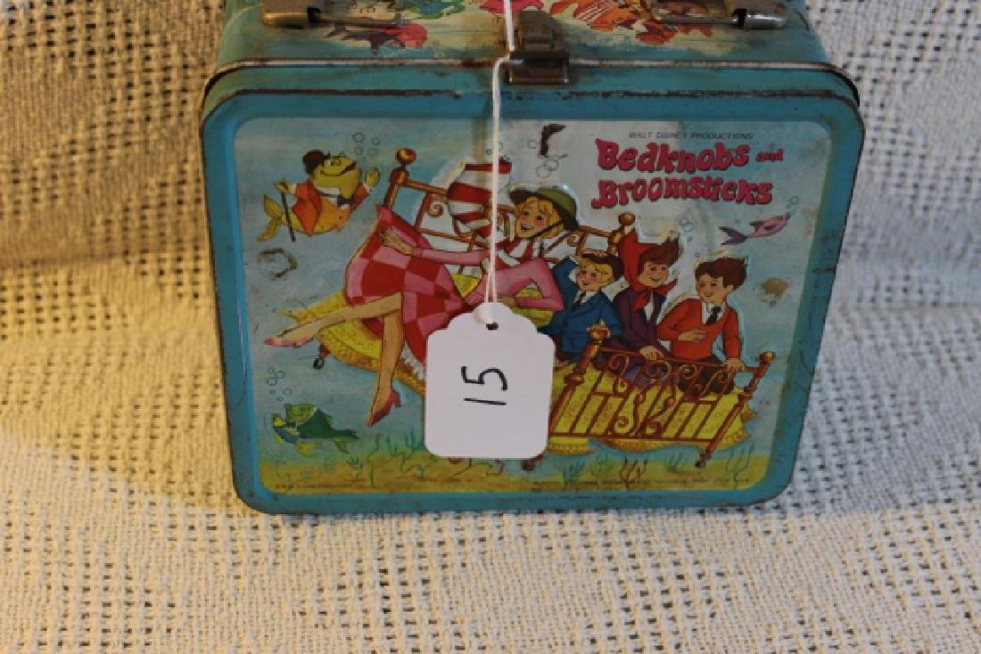 Bedknobs and Broom sticks lunch box