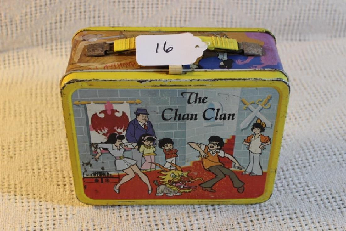 1973 metal lunch box The Chan Clan