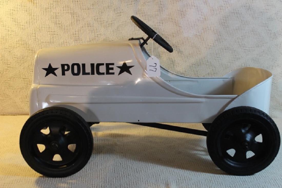 1934 Garton Police Pedal Car