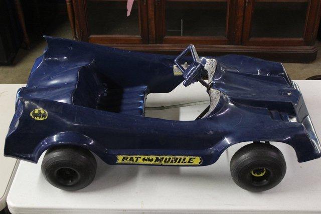 Batmobile Pedal Car