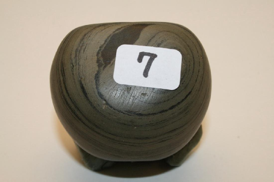 Banded Slate Ball Bannerstone
