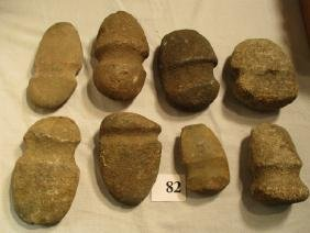8 Assorted Stone Axes