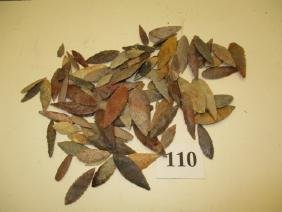 93 Sahara Willow Shaped Leaf Points