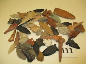50 Assorted Flint Points