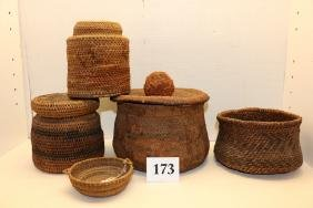 5 Assorted Baskets