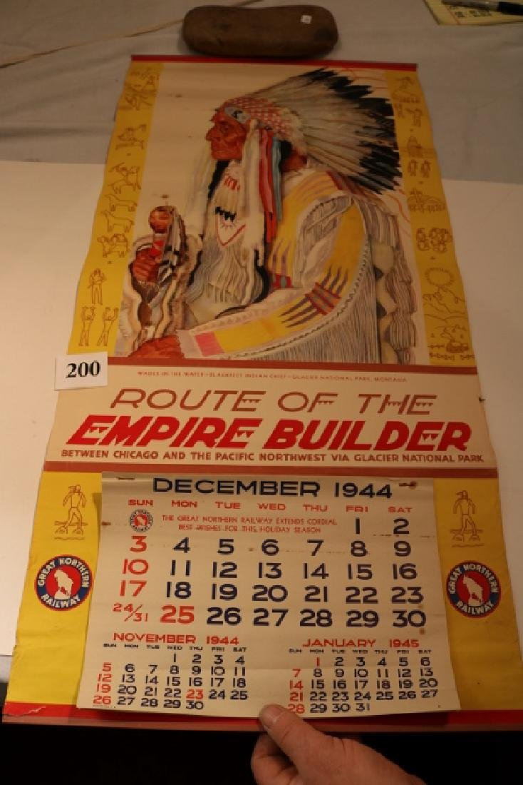 Great Northern R.R. 1945 Calendar