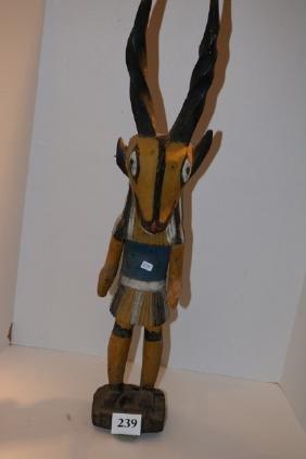 Rare Goat Katsina Doll