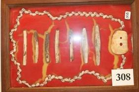 7 Tubular Beads Shell
