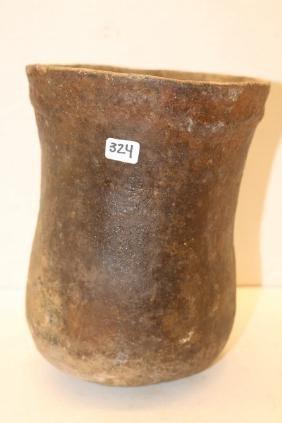 Flared Mississippian Pottery Jar