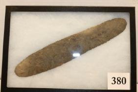 Serrated Flint Blade