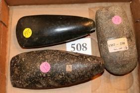 3 Stone Celts