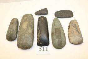 7 Stone Celts