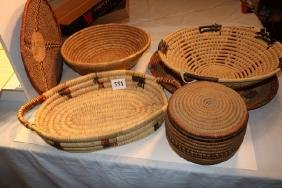 6 Assorted Baskets