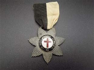 Early Red Cross Ribbon and Badge