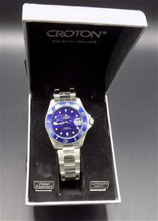 Splendid Croton automatic day- time men's watch