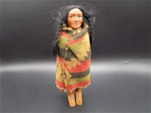 Vintage Skookum The Great Indian Doll