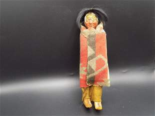 Vintage Skookum the Great Indian Doll.