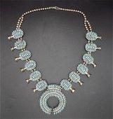 Spectacular Zuni Native American Indian needlepoint