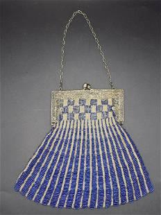 Vintage roaring twenties flapper's beaded purse