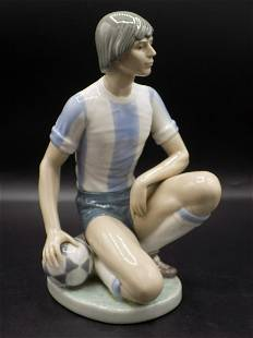 Fine vintage Llardo porcelain sports figure