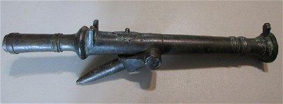 Bronze hand cannon.    Circa. 1400's-1500's