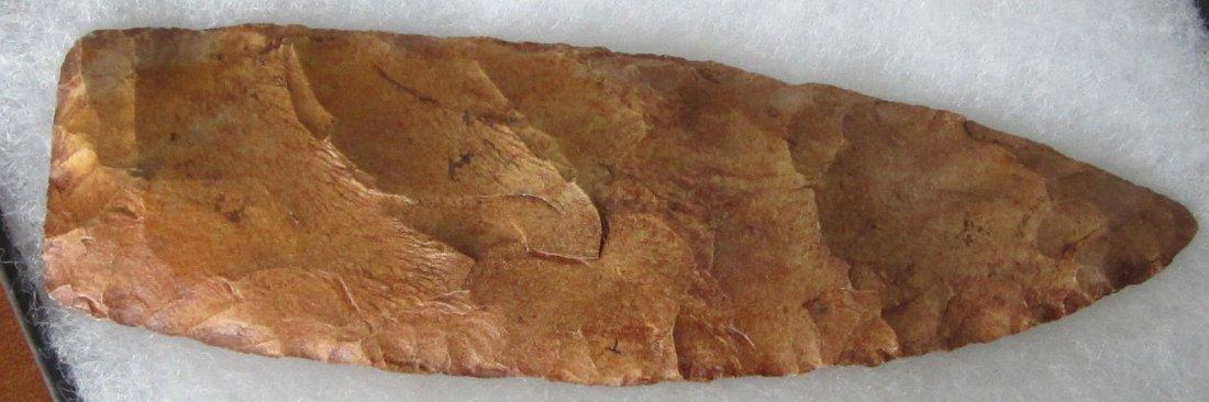 Great Stone 5 3/4 inch Arrow Head or Spear Head. In
