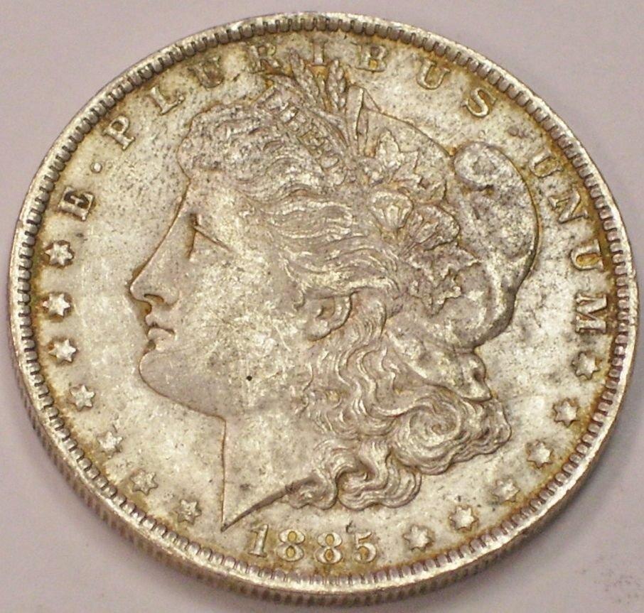 UNC 1885-O SILVER MORGAN DOLLAR BRILLIANT UNCIRCUALTED