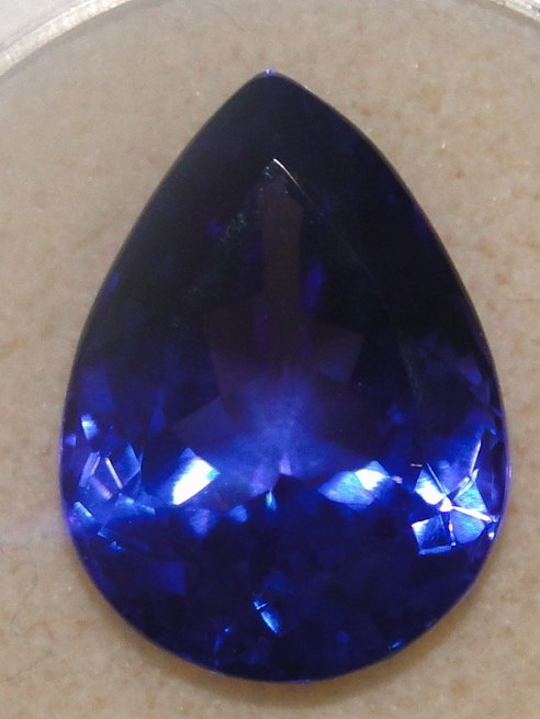 17.43Ct Pear Shaped Tanzanite