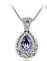 Swarovski Crystal Gemstone Necklace