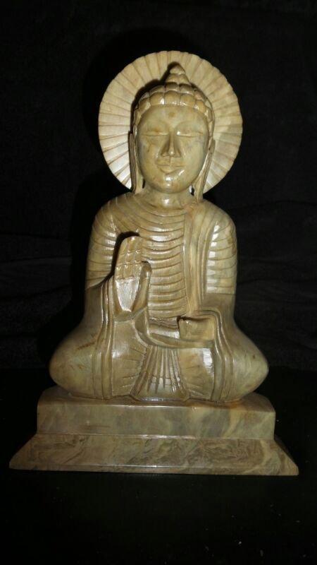 HAND CARVED BUDDHA JADE