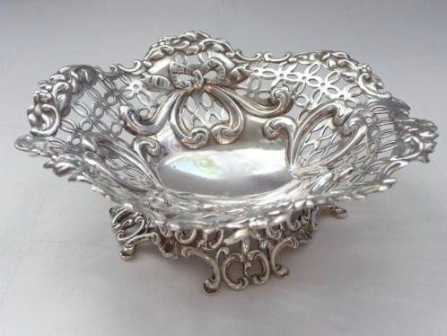 Antiek Victoriaans Zilver  1894