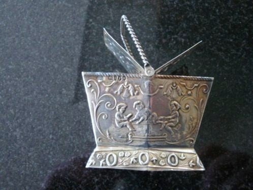 A very nice silver picnic basket from 1893