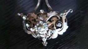 18TH CENTURY ANTIQUE SILVER INDONESIAN HAIRPIN