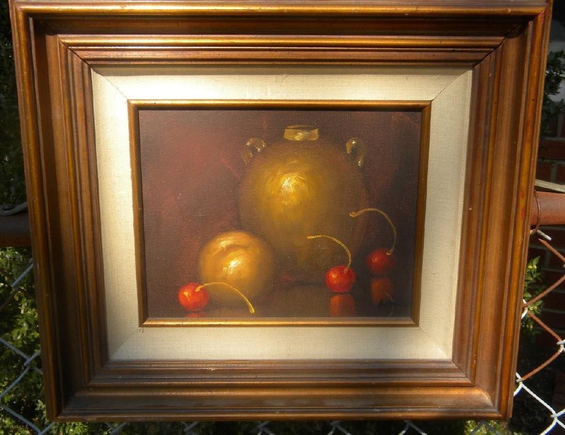 Antique Oil Painting Framed
