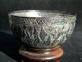 Antique Sterling Silver Bowl