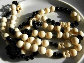Antique Bone Necklace
