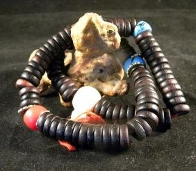 Antique Tibet 108 Zitan Buddha Prayer Bead
